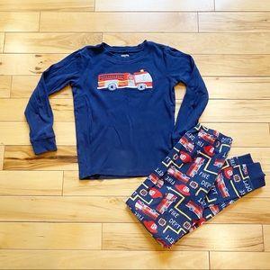Gymboree Fire truck 🚒 Pijama set size 10